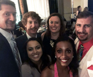 FWA Employees at Dancing With the Stars Gala