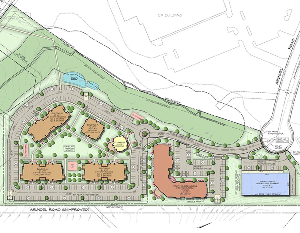 Frederick Ward Associates Riverwoods Site Plan
