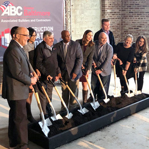 ABC Baltimore Construction Education Academy Groundbreaking